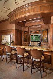 Photo of Atemberaubende Wet Bar auf der unteren Ebene #Recreationalroom #Recreational #room #man # …