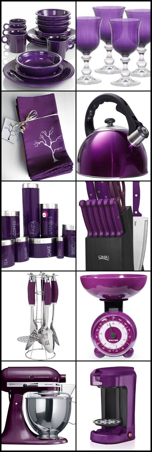 Purple Kitchen Accessories | Purple kitchen accessories ...