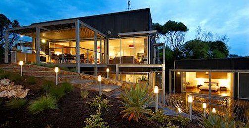 Niveles ideas para casa casas en terreno inclinado - Terreno con casa ...