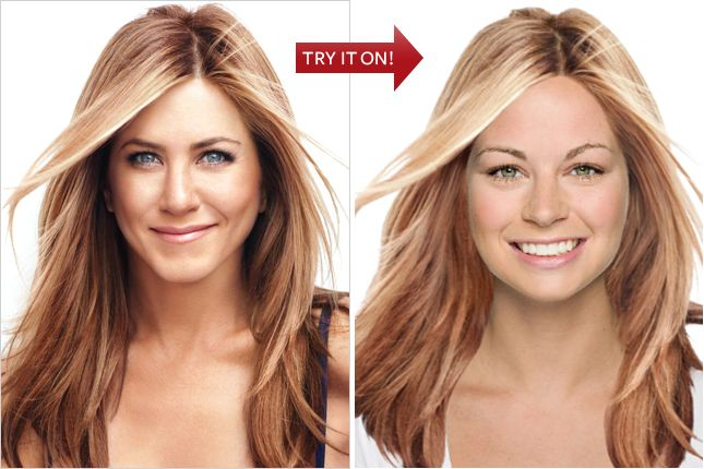 Re Think Pink Hollywood Hair Hairstyle Generator Hair Makeover
