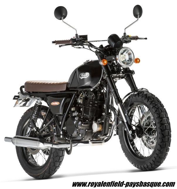 MOTO MASH TWO FIFTY 250 Cc Noire Concession Biarritz Pays