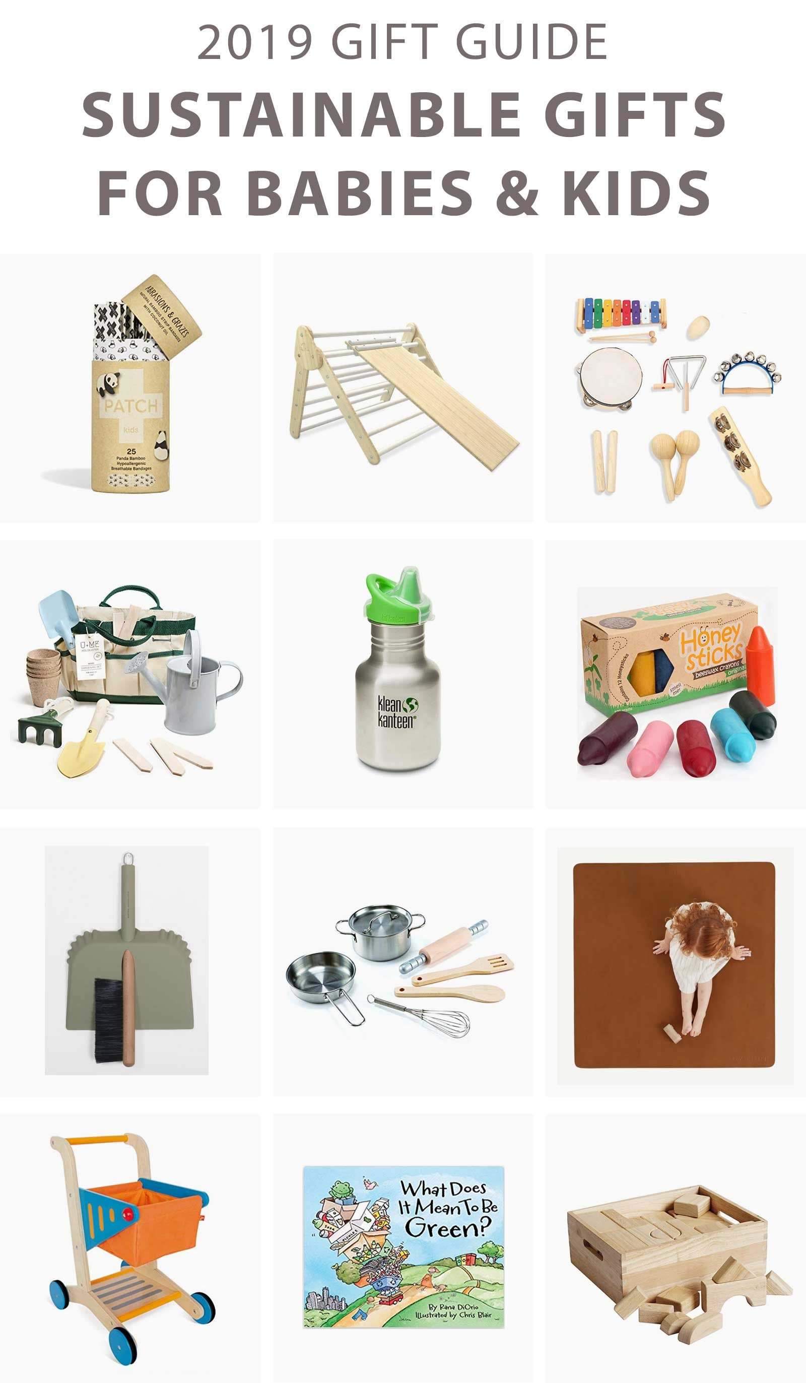 2019 Sustainable Gift Guide Kids Gift Guide Eco Kids Sustainable Gifts