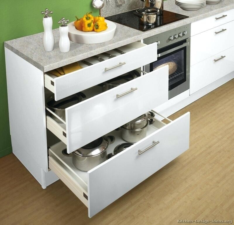 36 Base Kitchen Cabinet With Drawers Google Search Modern White Kitchen Cabinets White Modern Kitchen Kitchen Cabinet Drawers