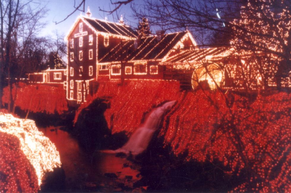 Clifton Mill Christmas Lights.The Legendary Lights At Clifton Mill Our Stop Next Year