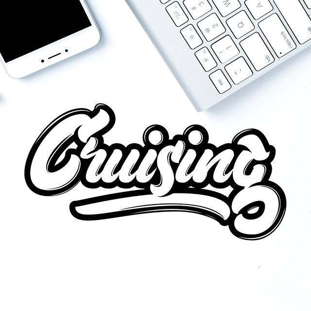 aaa5f0f88c6 The Daily Routine ( the daily routine) sur Instagram  lettering   handlettering  letters  type   typographie  adobeillustrator  typism   typograp…