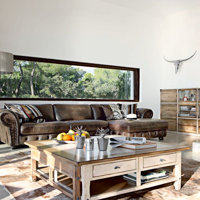 Spring-Summer Collection: Roche-Bobois | Wood coffee tables ...