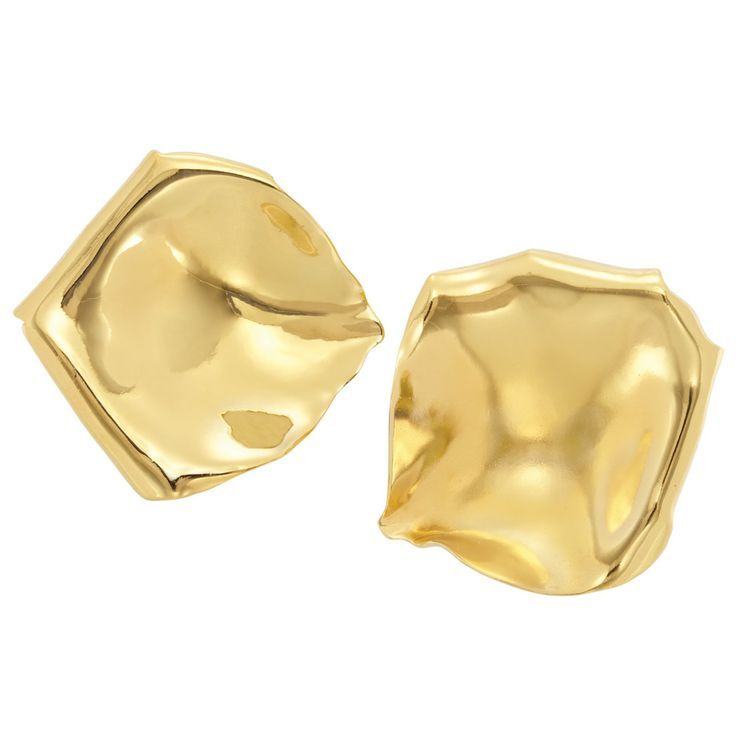 Gold Topped Aluminum Earclips