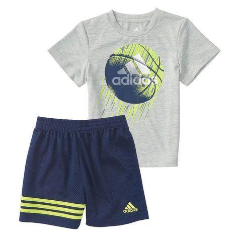 0bfb37de2e26 Adidas Toddler Boy Defender Short Set  Shopko