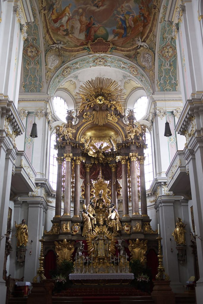 Peterskirche Church Architecture Cathedral Church Baroque Architecture