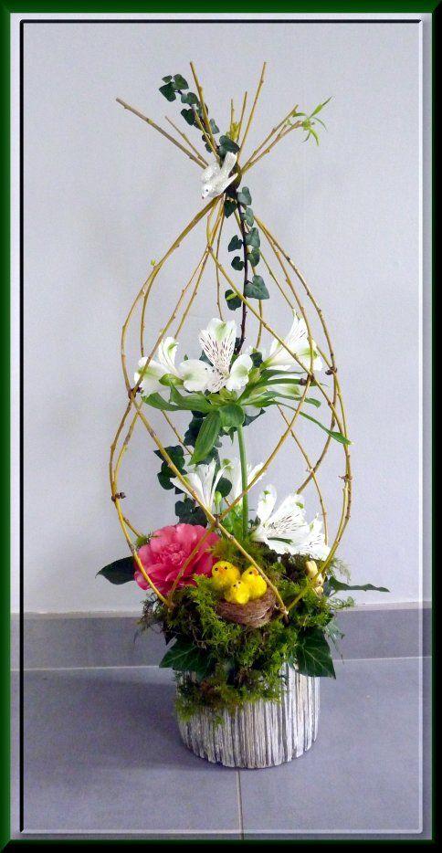 image joyeuses p ques art floral art. Black Bedroom Furniture Sets. Home Design Ideas