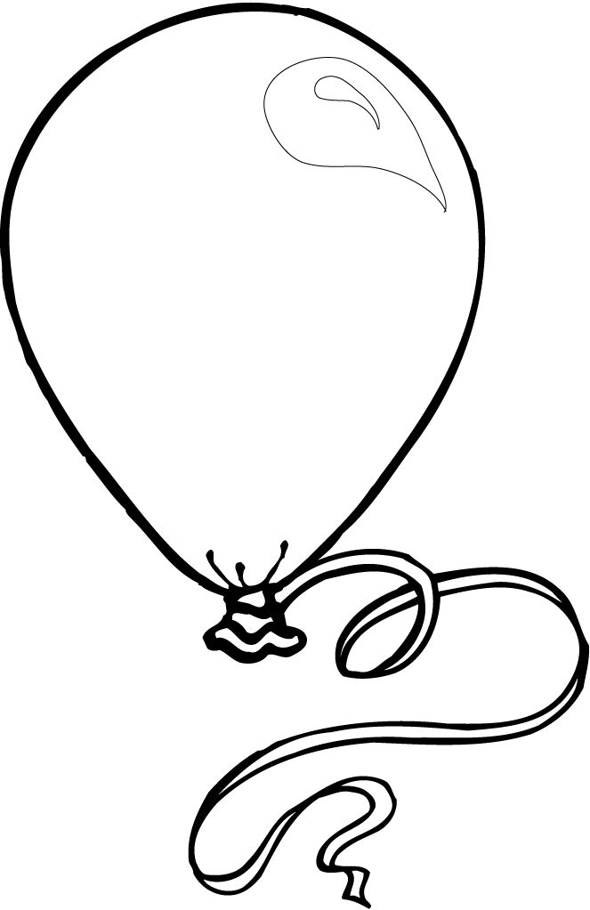 Printable Balloon Coloring Pages Coloring Pages For Kids Cute Coloring Pages Coloring Pages