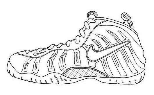 best sneakers 570b0 8f711 Nike Air Humara Coloring Page Shoes