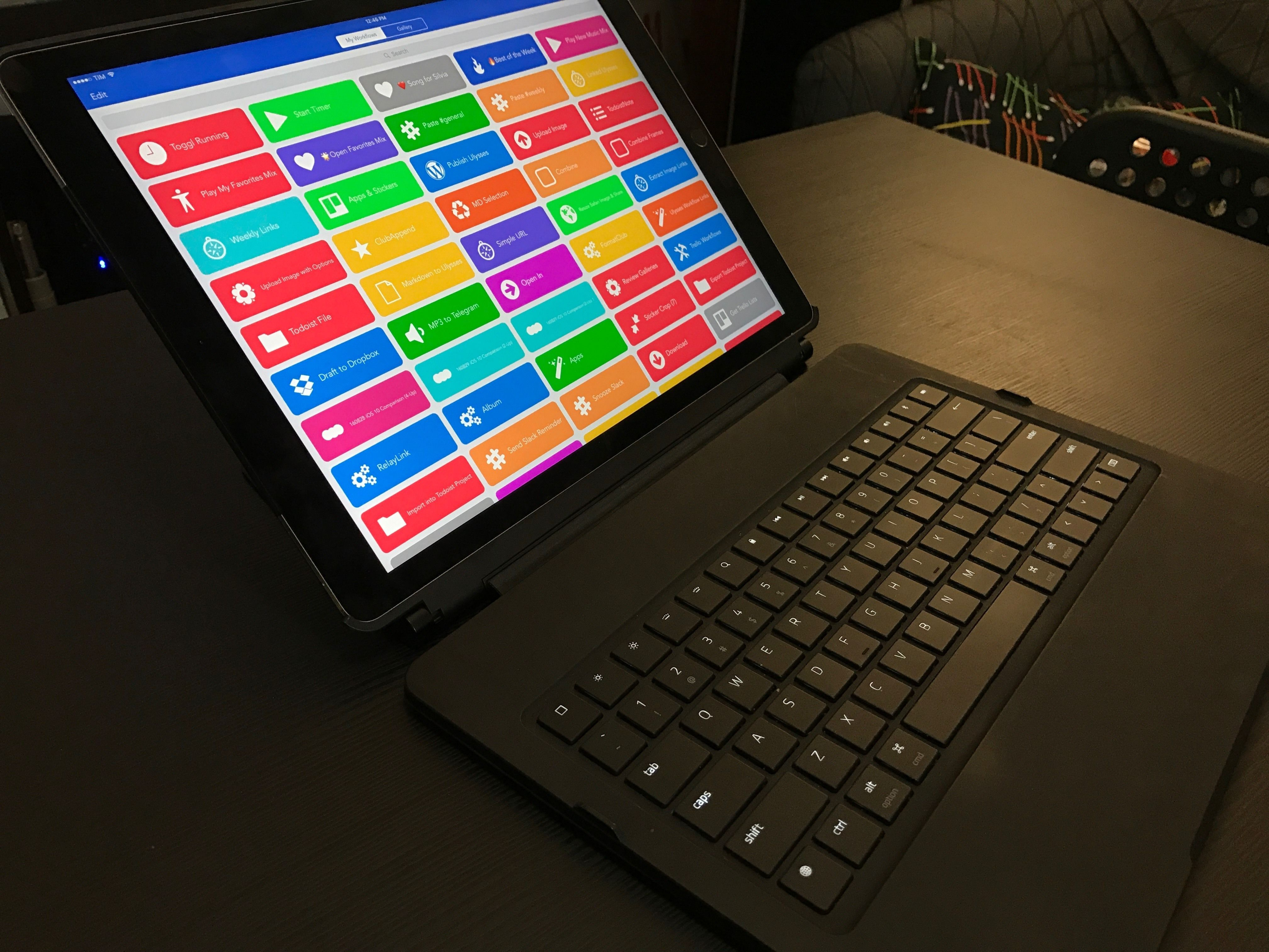 My New iPad Pro Keyboard: The Razer Mechanical Keyboard ...