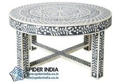 Bone Inlay Coffee Dining Table Bone Inlay Furniture Inlay Furniture