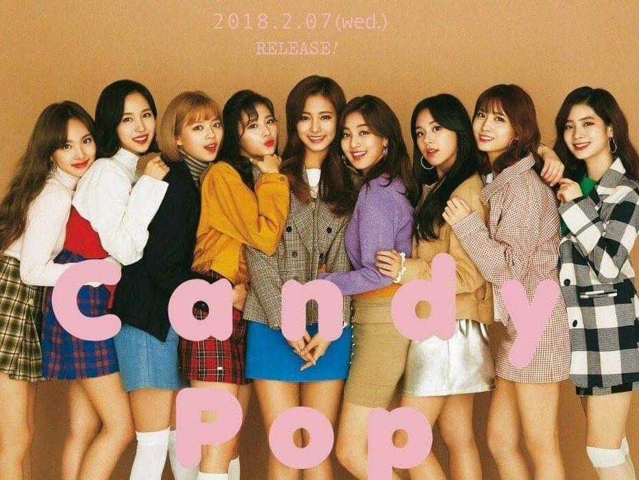 TWICE-180123 JYP TWICE Japan update #Candy Pop | TWICE | Kpop