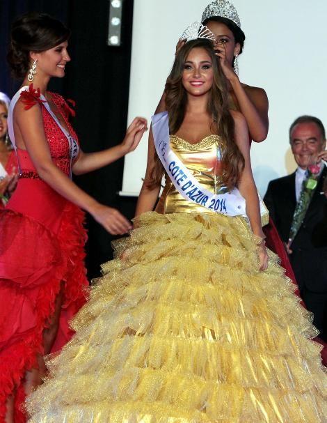 Charlotte Pirroni  Miss Cote d'Azur 2014
