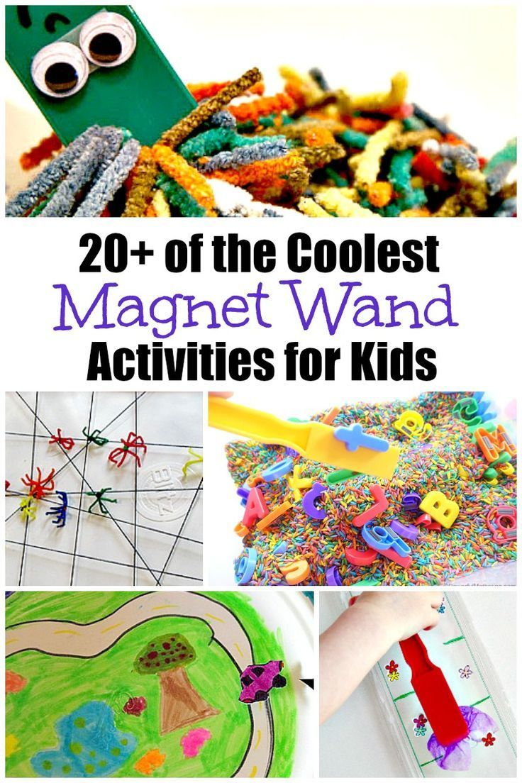 Explore Magnets with Kids! | Science activities for kids ...