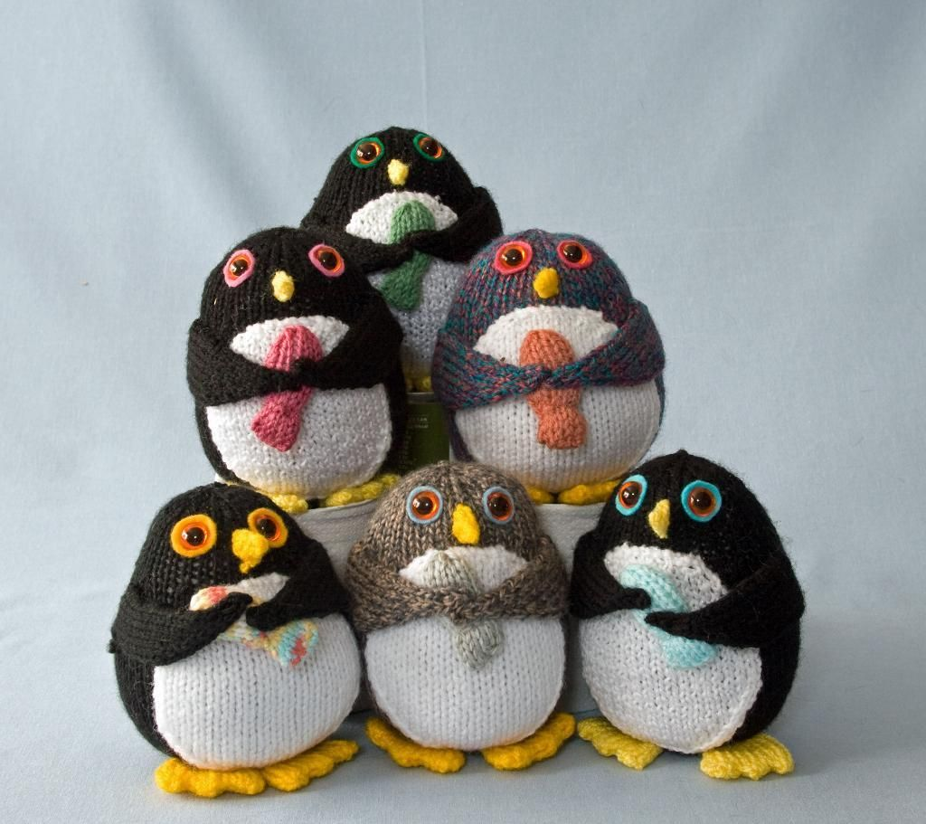 The penguins penguins patterns and knitting toys the penguins bankloansurffo Images