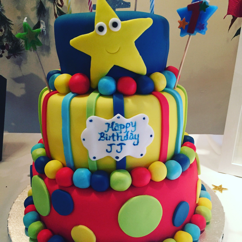 Little Baby Bum Cake Facebook.com/jennyangcakes