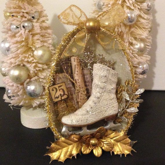 Hey, I found this really awesome Etsy listing at https://www.etsy.com/listing/251586493/christmas-diorama-ornament-with-ice