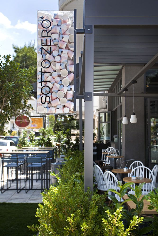SOTTO ZERO ESPRESSO BAR AND GELATO - Cafés / Pastry shops - PROJECTS | STONES&WALLS