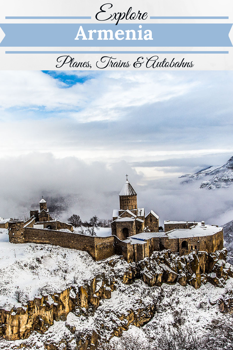 Tatev Monastery - my favorite place in Armenia.  Click through to see more amazing photos of this beautiful place & how to travel there. | travel | Armenia| Churches