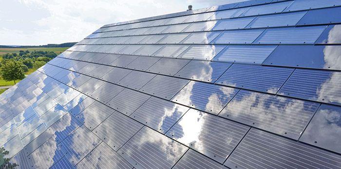 Tesla Energy Solar City Ceo Elon Musk Announces Solar Rooftops Off Grid World Solar City Solar Roof Solar Panels