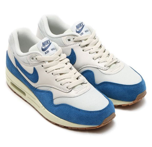 nike air max 1 essential royal blue white paisley