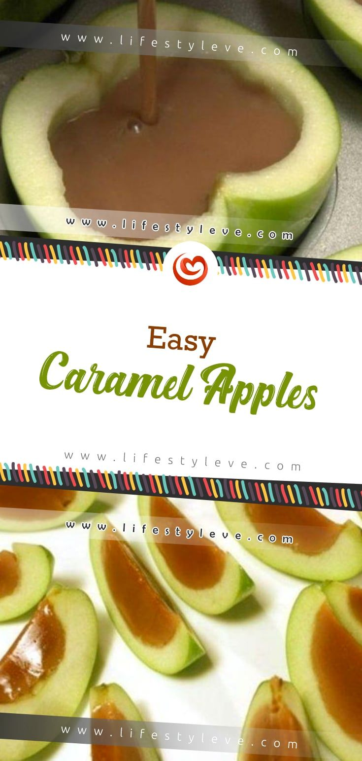 Easy Caramel Apples – Printable #caramelapples