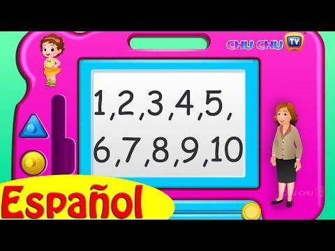 Cancion De Los Números Los Números Del 1 Al 10 Canciones Infantiles Educativas Chuc Rimas Infantiles Canciones De Jardín De Infantes Canciones Infantiles