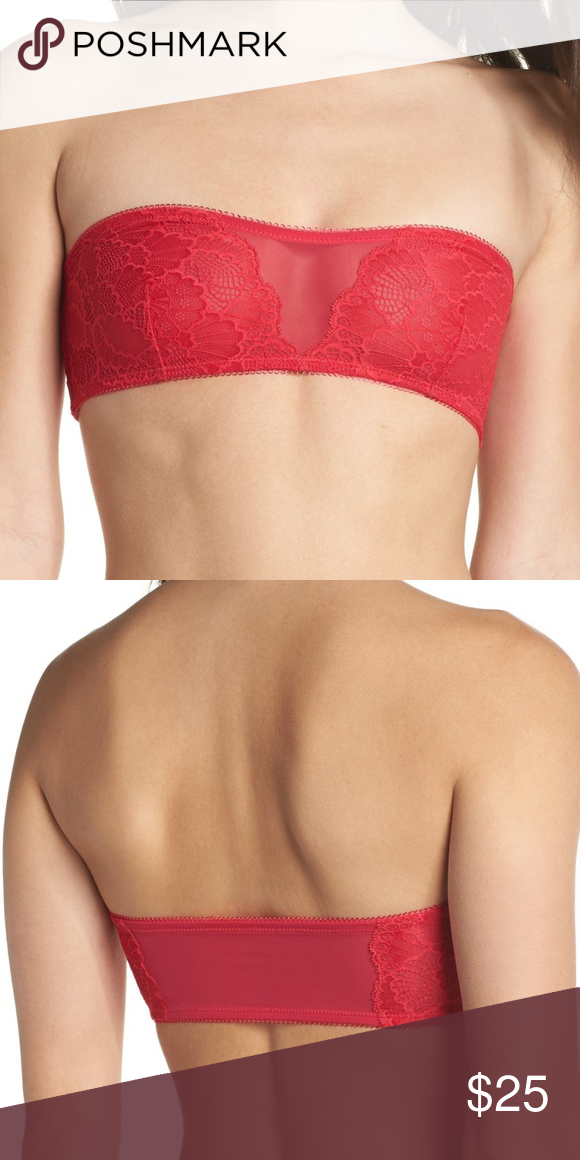 d7b78429626e1 Free People Malinda Babeau Delicate lace offset with a mesh insert adds  striking allure to a