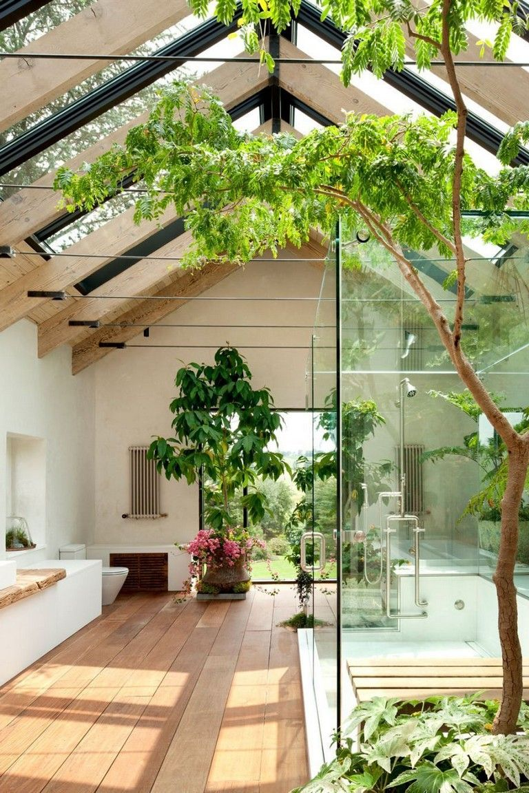 40 Modern Amazing Indoor Garden Ideas For A Cool Houses Indoorgarden Indoorgardenideas Gardendesign Huisdesign Groen Interieur Groen Huis