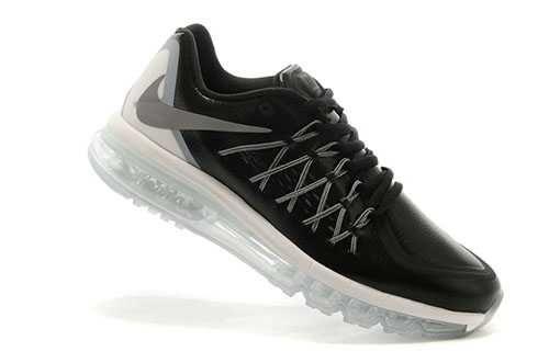 quality design aa0af d4c4b 1830   Nike Air Max 2015 Herr Svart Silver SE247230IWVth