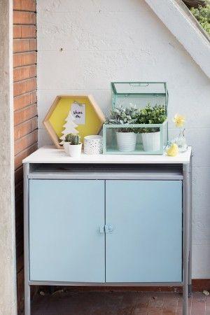 Ikea hack hind outdoor cabinet via outdoor makeover cabinet hindo diy - Ikea outdoor kitchen cabinets ...