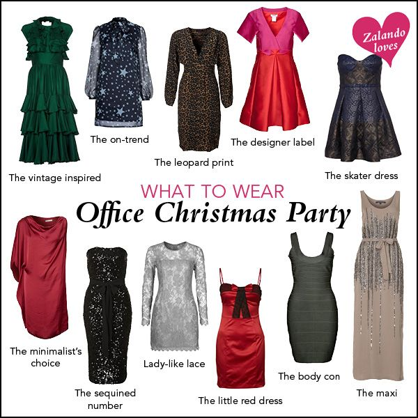 dressing for office christmas party