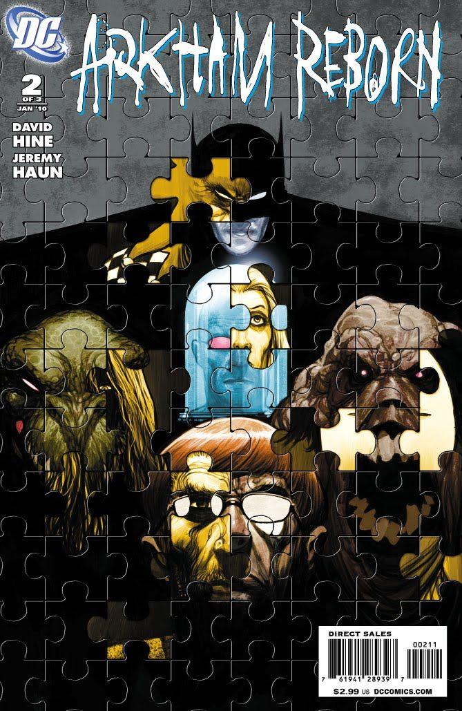 Artes de Jeremy Haun para Arkham Reborn #2 ~ Neoverso Comics