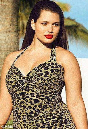 dccce1326bdc6 Big is Beautiful  Plus size model Tara Lynn stars in new H M campaign
