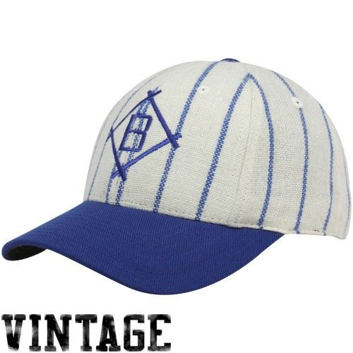 Brooklyn Dodgers Natural Pinstripe 1912 Throwback Cooperstown Fitted ... ac5626cd5cf