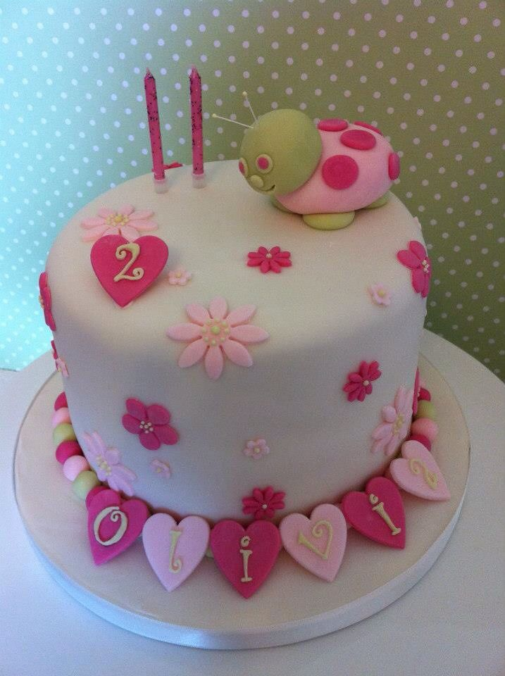 Girls birthday cake wwwporshamcouk 1st birthday Pinterest