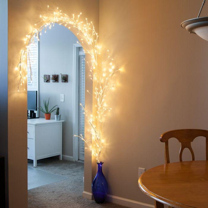 1001 id es pour une guirlande lumineuse pour chambre d co chambre cocoon d coration. Black Bedroom Furniture Sets. Home Design Ideas