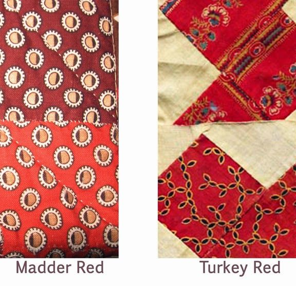 Classifying Turkey red versus madder red. Civil War Quilts: February 2015