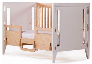 Crib - P. Pod Toddler Bed - modern - cribs - Gro Furniture