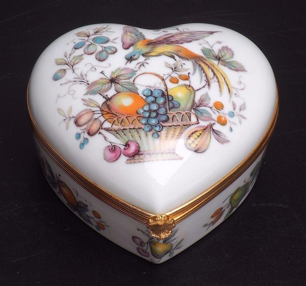 Small Heart Shaped Trinket Box