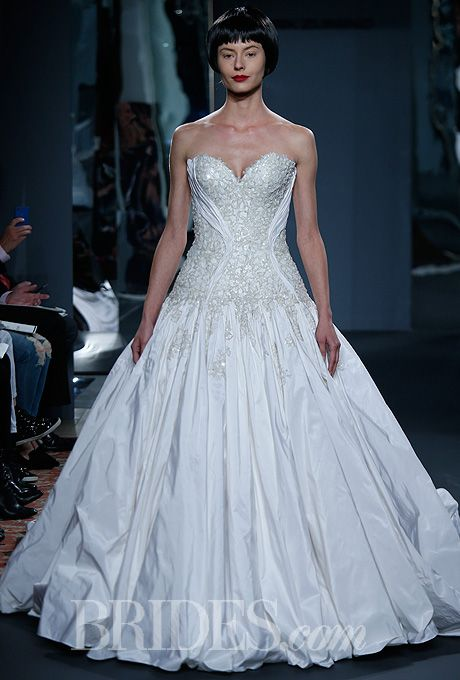 Mark Zunino for Kleinfeld - 2014 | Mark zunino, French lace and Lace ...