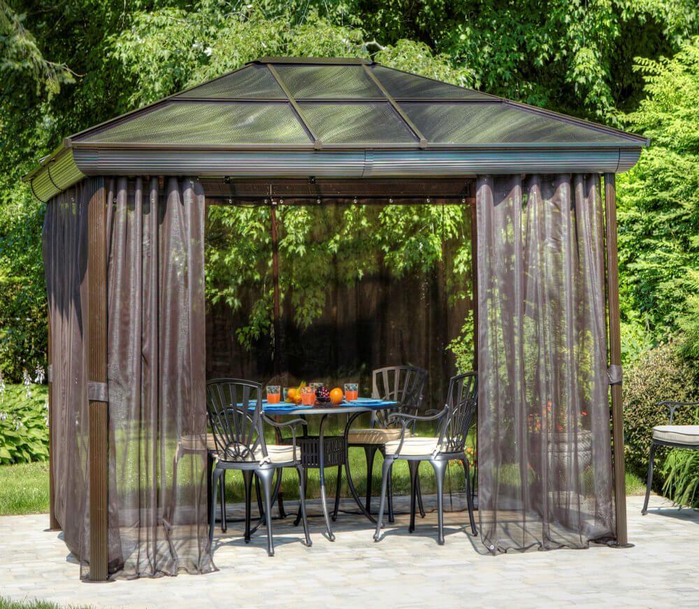 27 Gazebos With Screens For Bug Free Backyard Relaxation Patio