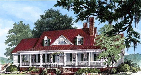 low country house plans select from nearly architect and home designer created floor plans all of our low country house plans can be modified - Southern Country House Plans