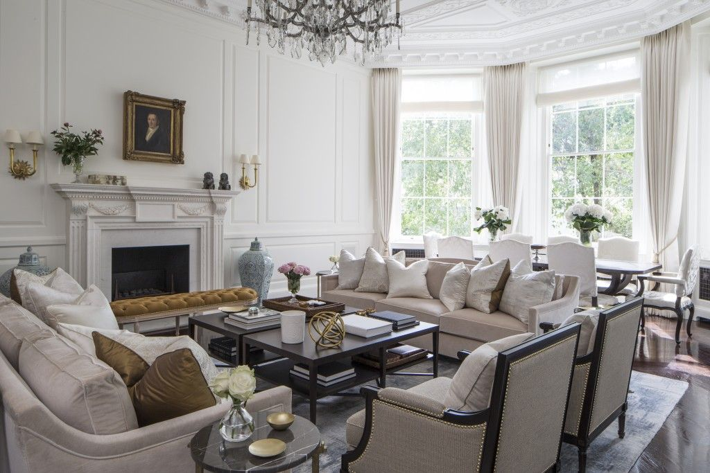 Designer Louise Wicksteed is the queen of townhouse style