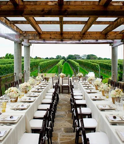 A Wedding In The Hamptons We Re There And So Are These 7 Stunning Venues Wolffer Estate
