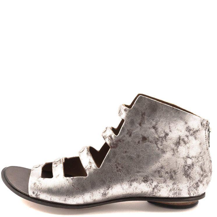 CYDWOQ Damen Sandale Caracal metall | Cydwoq Shoes at MBaetz