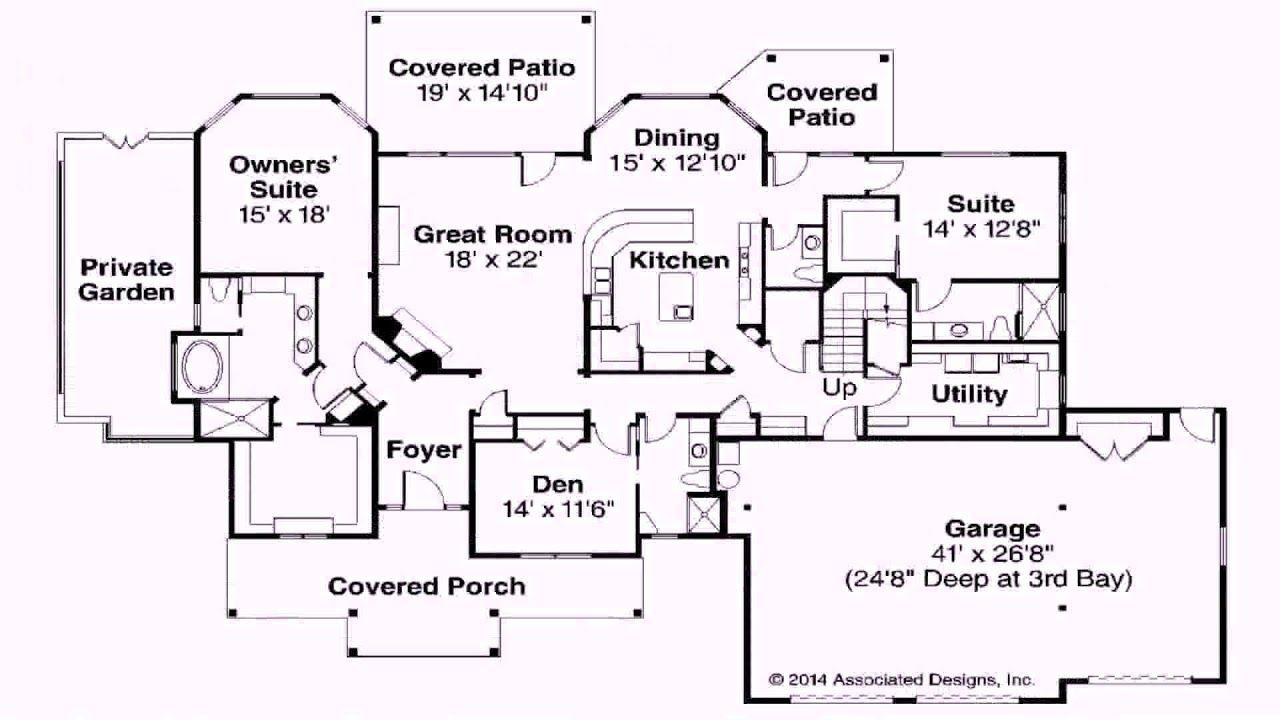 House Plans Without A Basement Basement House Plans One Level House Plans House Plans One Story